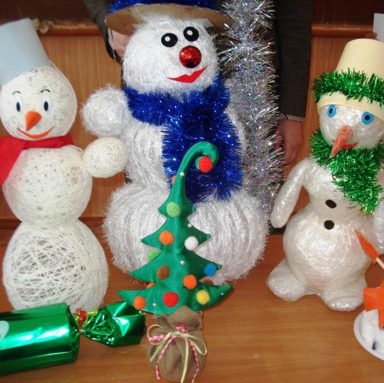 Фото игрушек своими руками к новому году